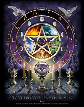 Wiccan Pentagram Graphics Myspace